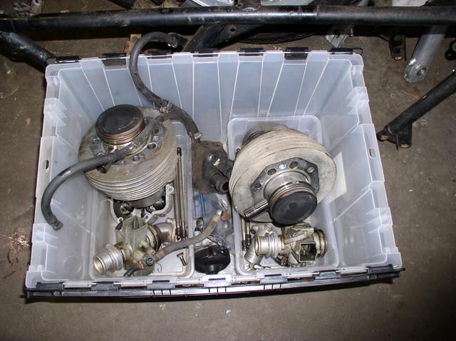V7 Sport engine teardown 2