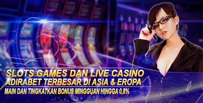 SLOT GAMES DAN LIVE CASINO ADIRABET.com