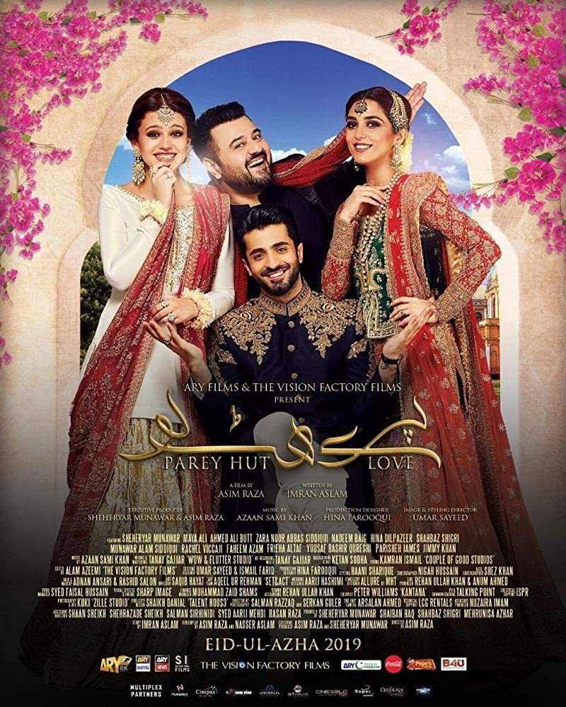 Parey Hut Love 2019 Urdu 720p HDRip 1.1GB | 450MB Download