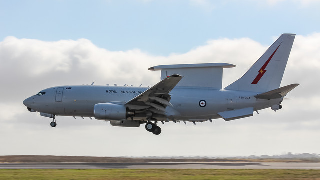 RAAF Wedgetail A30 004 March 2017