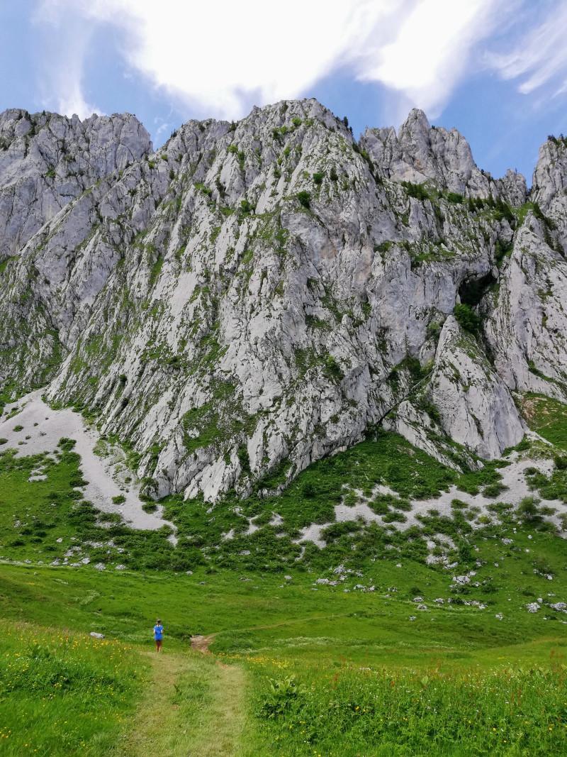 Tall flat rocks