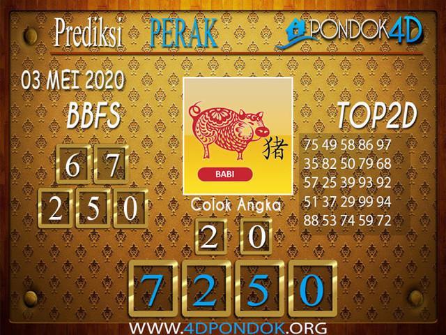 Prediksi Togel PERAK PONDOK4D 03 MEI 2020