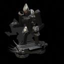 Un robot asesino veloz Black-Stalker