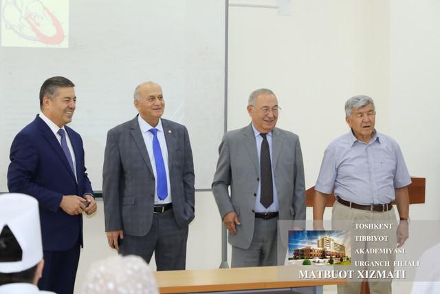 Высококвалифицированные и опытные профессионалы своего дела посетили Ургенчский филиал