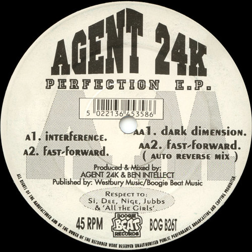 Agent 24K - Perfection E.P. 1993