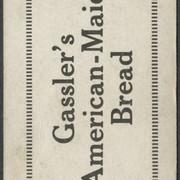 1922 Gassler's Bread Shea B