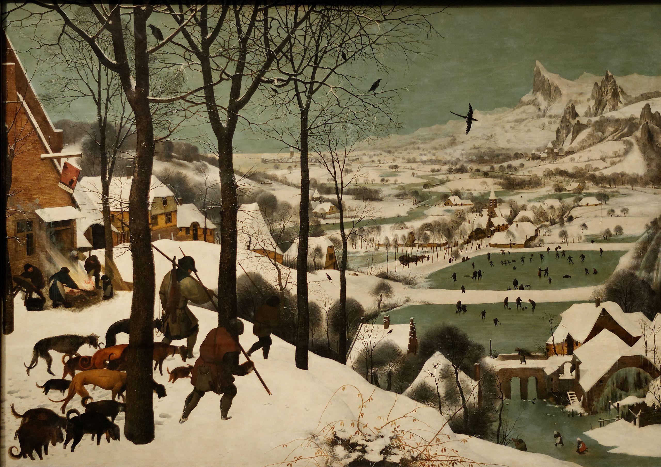 Les-chasseurs-dans-la-neige-Pieter-Brueghel-l-Ancien