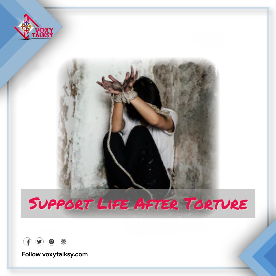 International Day in Support of Victims of Torture 2020 | Support Victims of Torture | VoxyTalksy