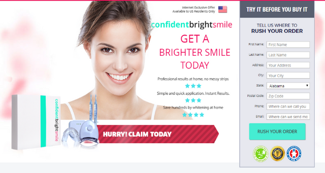 Confident Bright Smile Teeth Whitening Reviews Scam Or Legit