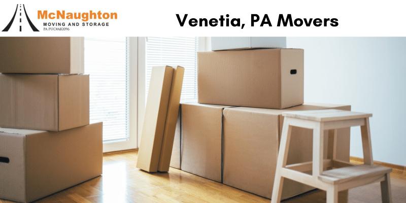 Venetia, PA Movers and Storage