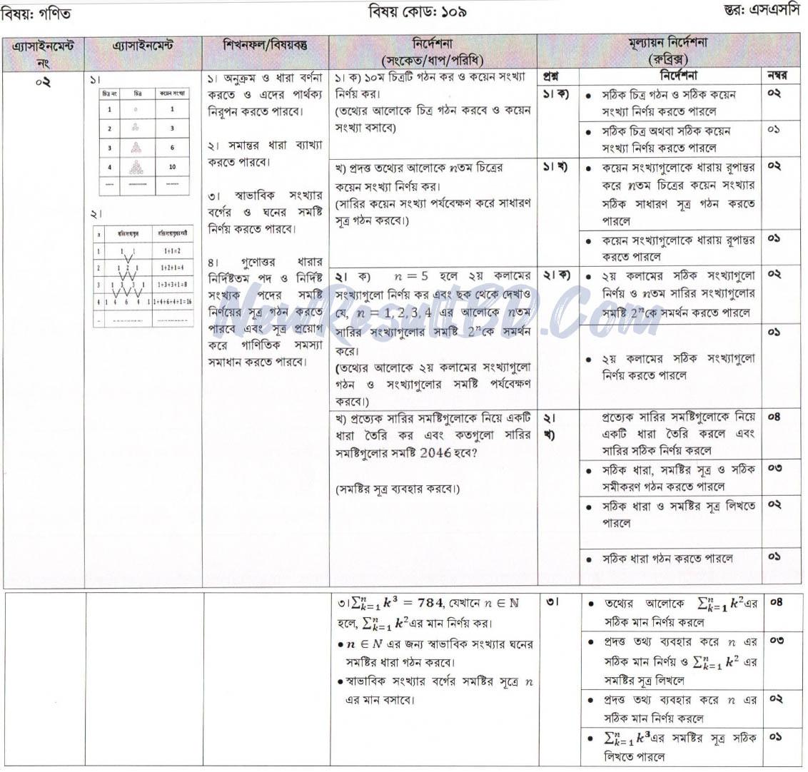 SSC Math 3rd Week