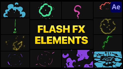 Flash FX Elements Pack 04   After Effects 30276653 - Project & Script (Videohive)