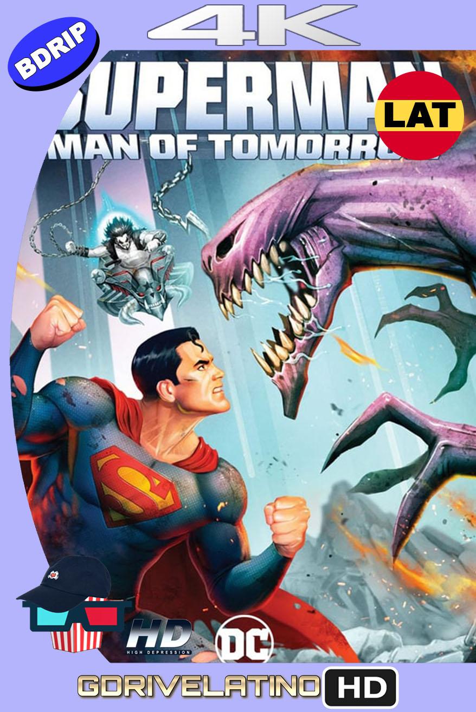 Superman: Hombre del Mañana (2020) BDRip 4K HDR Latino-Inglés MKV