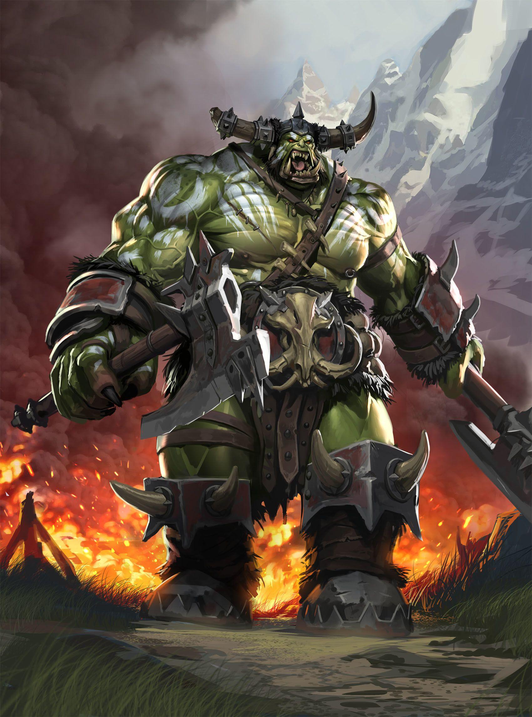 [Dungeon - B] Lar dos Orc's ORCS-Legion-of-Thunder-Paul-Mafayon