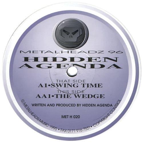 Hidden Agenda - Swing Time / The Wedge
