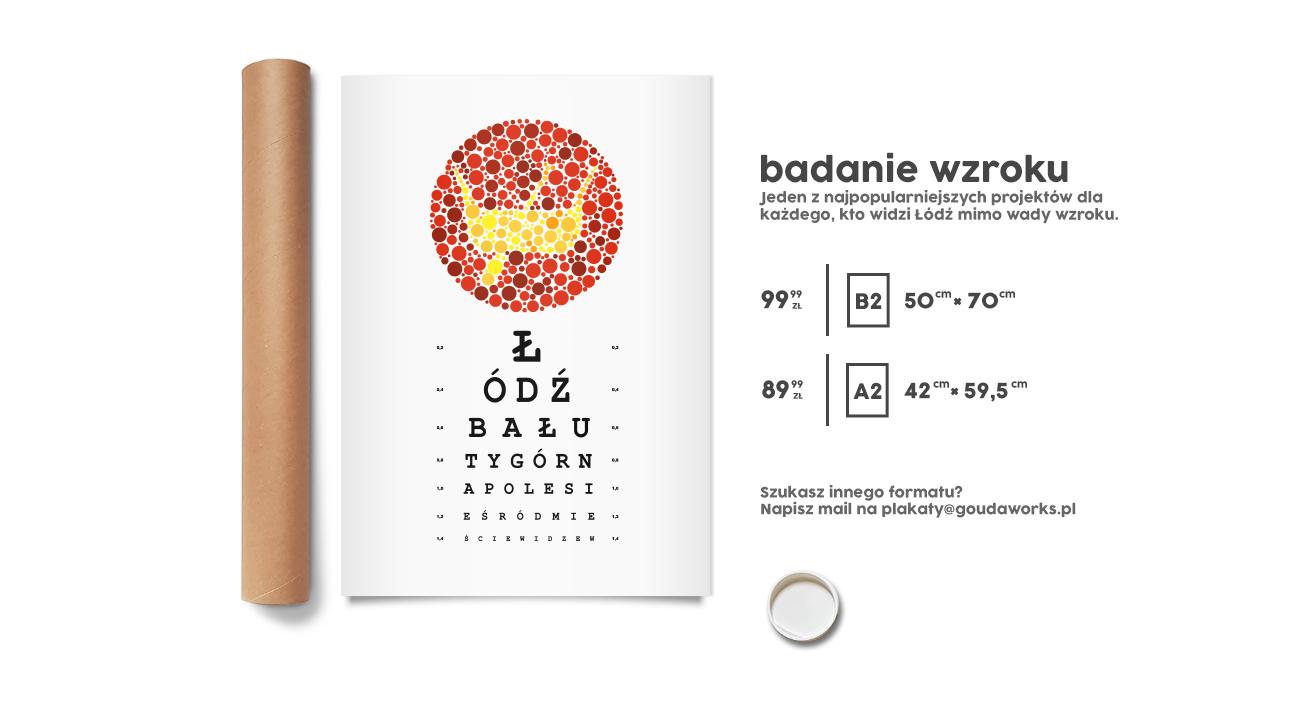 Plakat od Goudy - Badanie wzroku