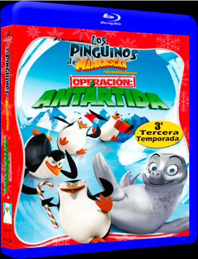 Los Pingüinos De Madagascar (2008) Temporada 3/3 x264 1080p