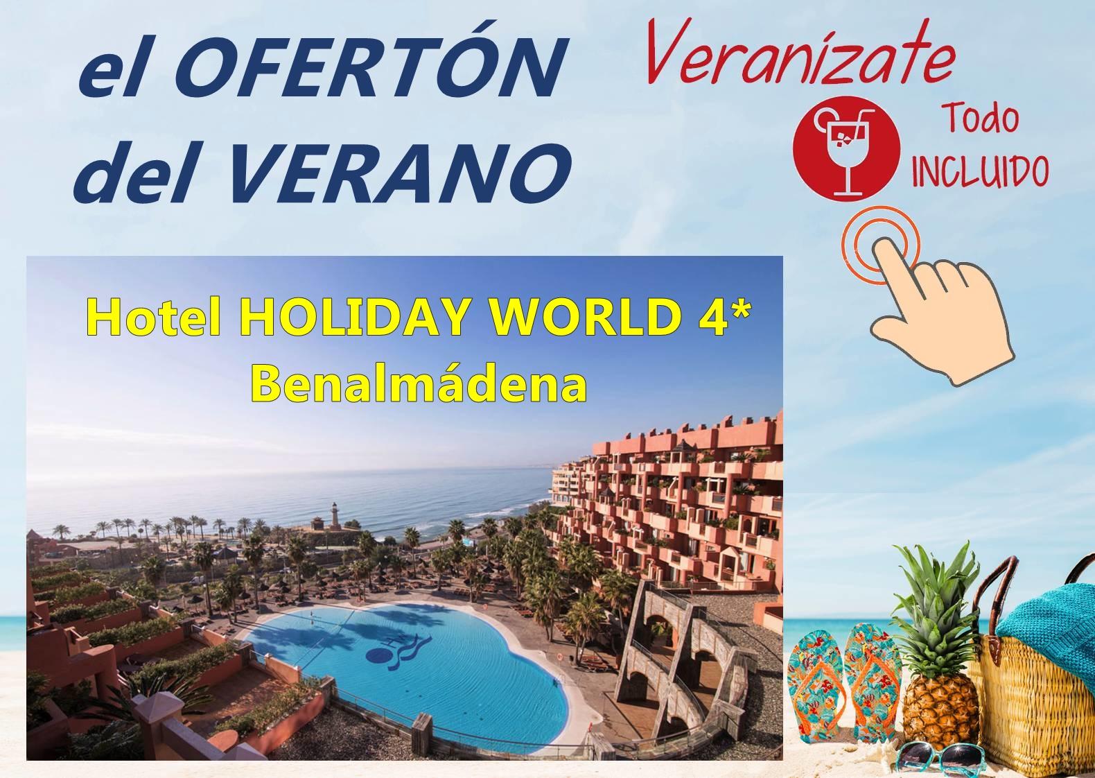 Chollo del verano con Viajes MundiPlayas en Hotel HOLIDAY WORLD 4*