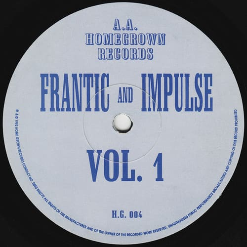 Frantic And Impulse - Vol. 1