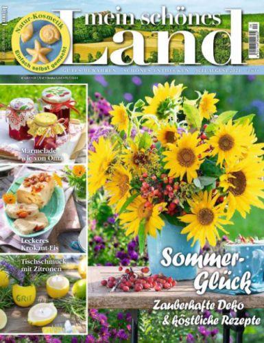 Cover: Mein schönes Land Magazin No 04 Juli-August 2021