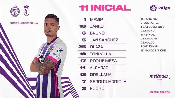 Real Valladolid C.F. - Granada C.F. Domingo 11 de abril. 18:30 - Página 2 OnceGRA