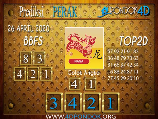 Prediksi Togel PERAK PONDOK4D 26 APRIL 2020