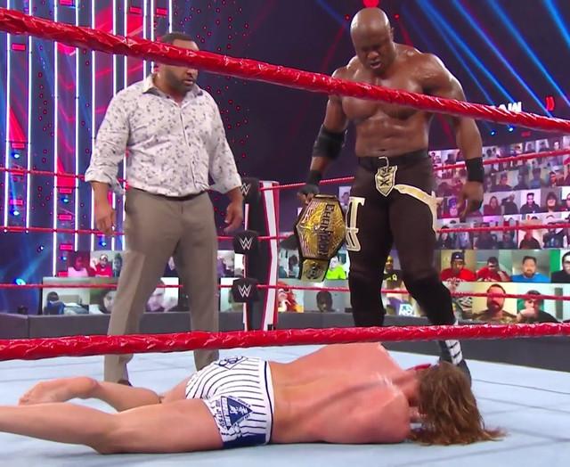 Bobby Lashley venció a Riddle en RAW 11 de Enero