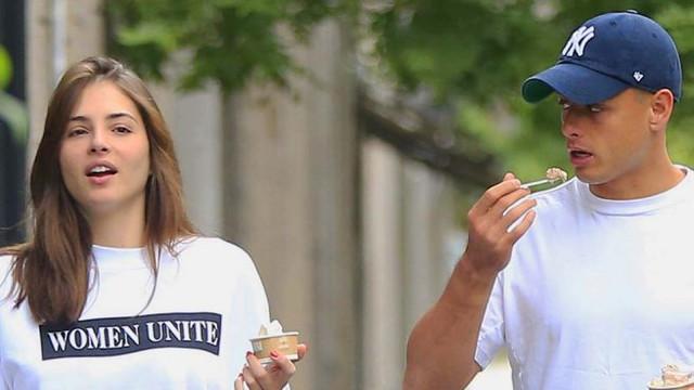 Chicharito y Andrea duro