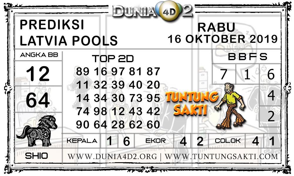 """Prediksi Togel """"LATVIA"""" DUNIA4D2 16 OKTOBER 2019"""
