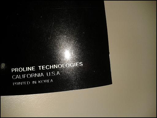 [VENDO] AMPLIFICATORE PROLINE RMA050 (Classe A/B) (Fabbricato In U.S.A.) PROLINE12