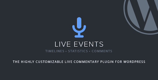 Live Events Plugin