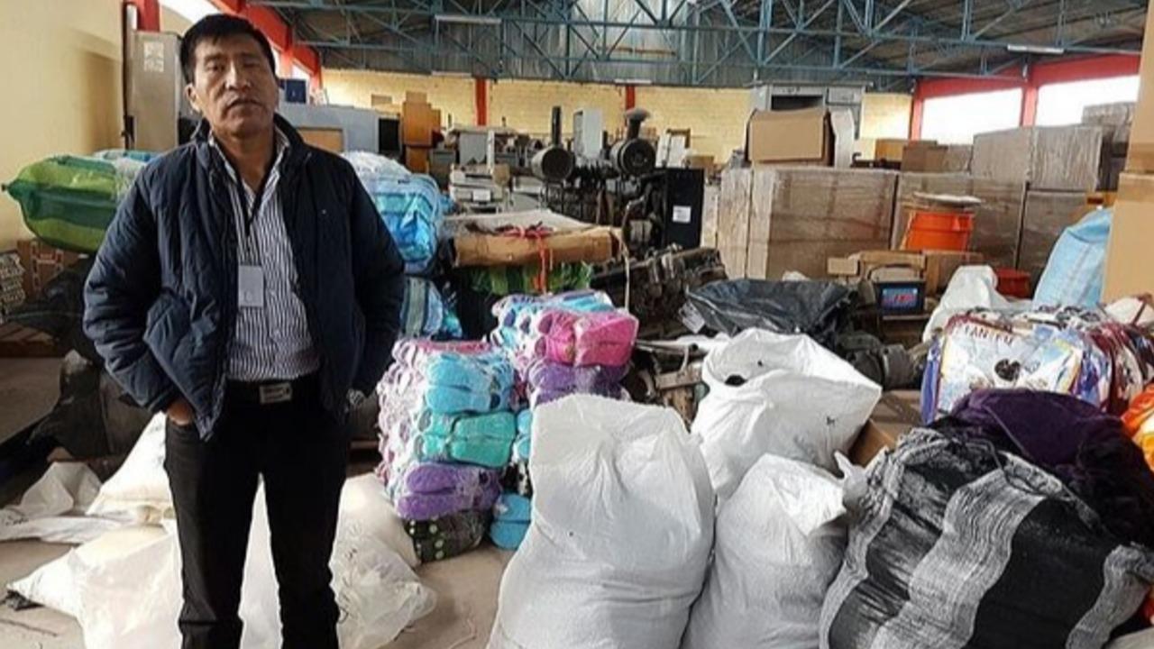 Moisés Mamani rehuye a audiencia judicial en Corte Superior de Puno