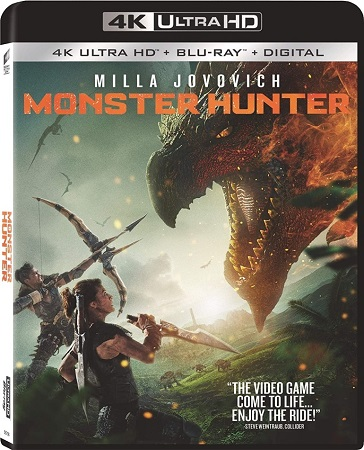 Monster Hunter (2020) Blu-ray 2160p UHD HDR10+ HEVC MULTi DTS-HD .51 iTA/FRE TrueHD  7.1 ENG - TrueHD 7.1 ENG