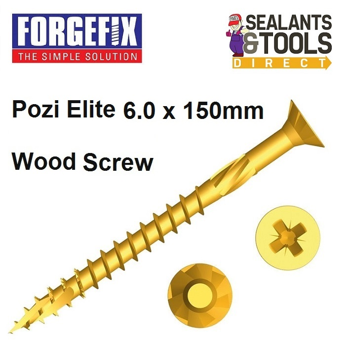 Forgefix-Pozi-Elite-Wood-Screws-6-0-150mm