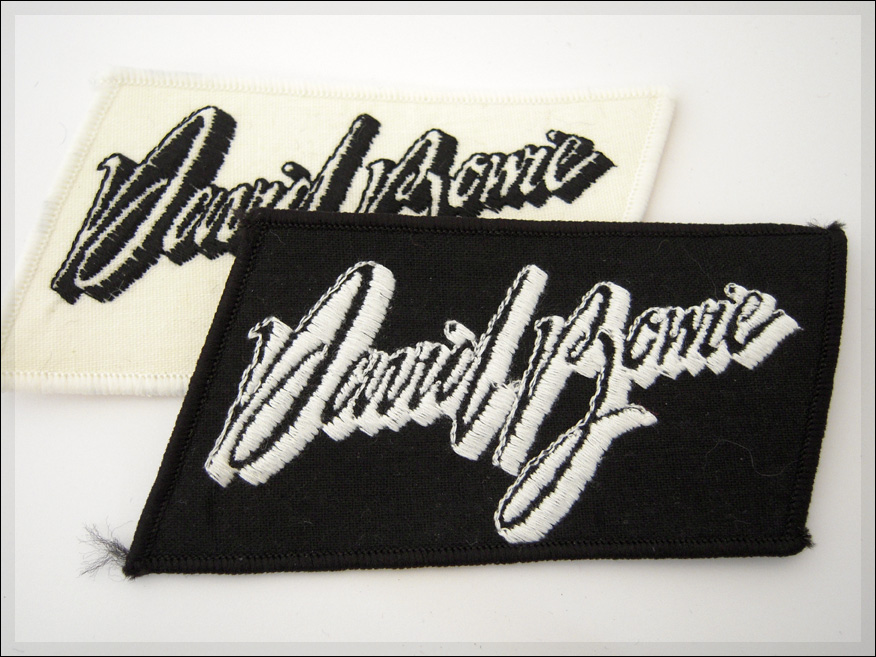 Bordado para Planchar 7,6 x 7,6 cm Ziggy Stardust Parche de David Bowie