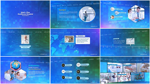 Mediplus Hospital Corporate Presentation 33748499 - Project for After Effects (Videohive)