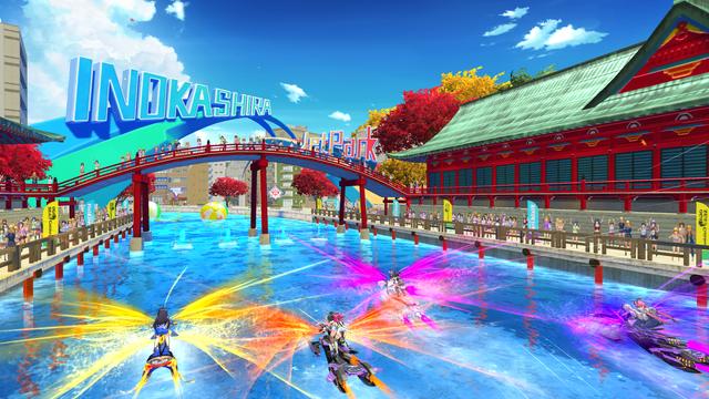 PlayStation®4『神田川JET GIRLS』今日發售! 可操控角色追加DLC也同步上市!  32