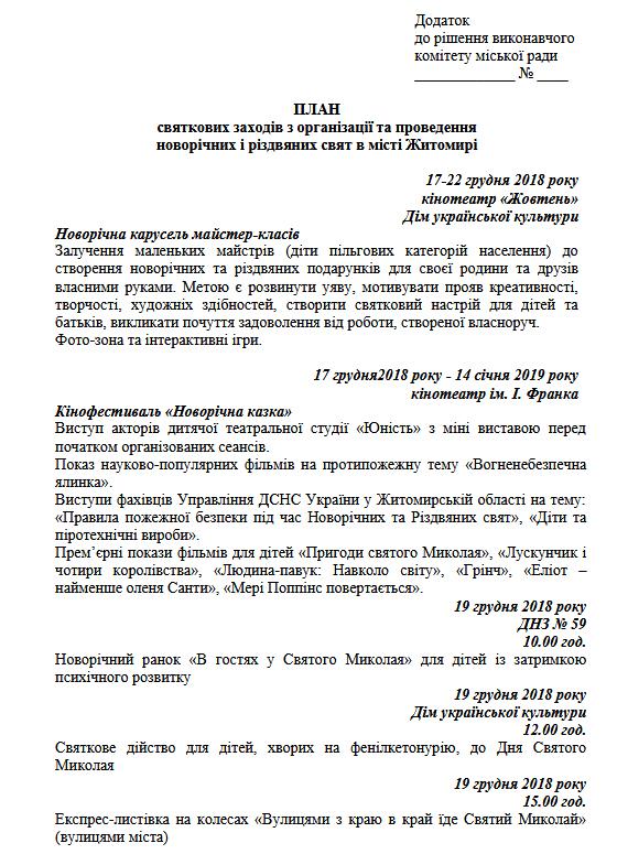 pl ng1 - На відкритті головної новорічної ялинки Житомира планують виступ гурту «Mad Heads»