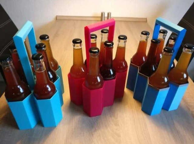 Sixpack Carrier - Cool Things to 3D Print