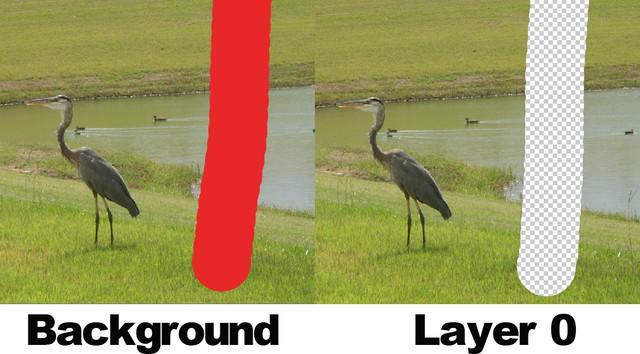 erasure-on-background-layer-2