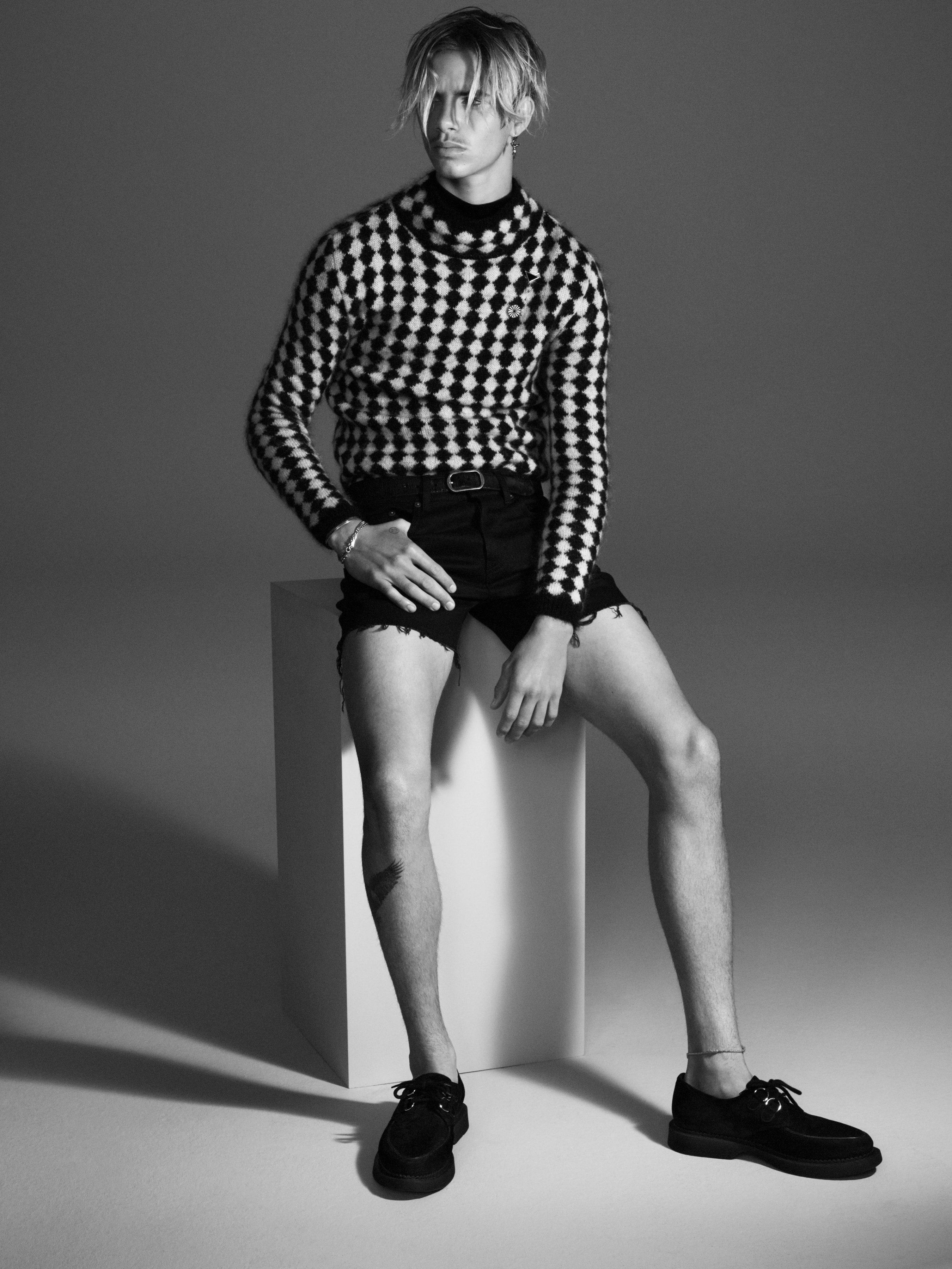 Romeo Beckham volto della nuova campagna Saint Laurent