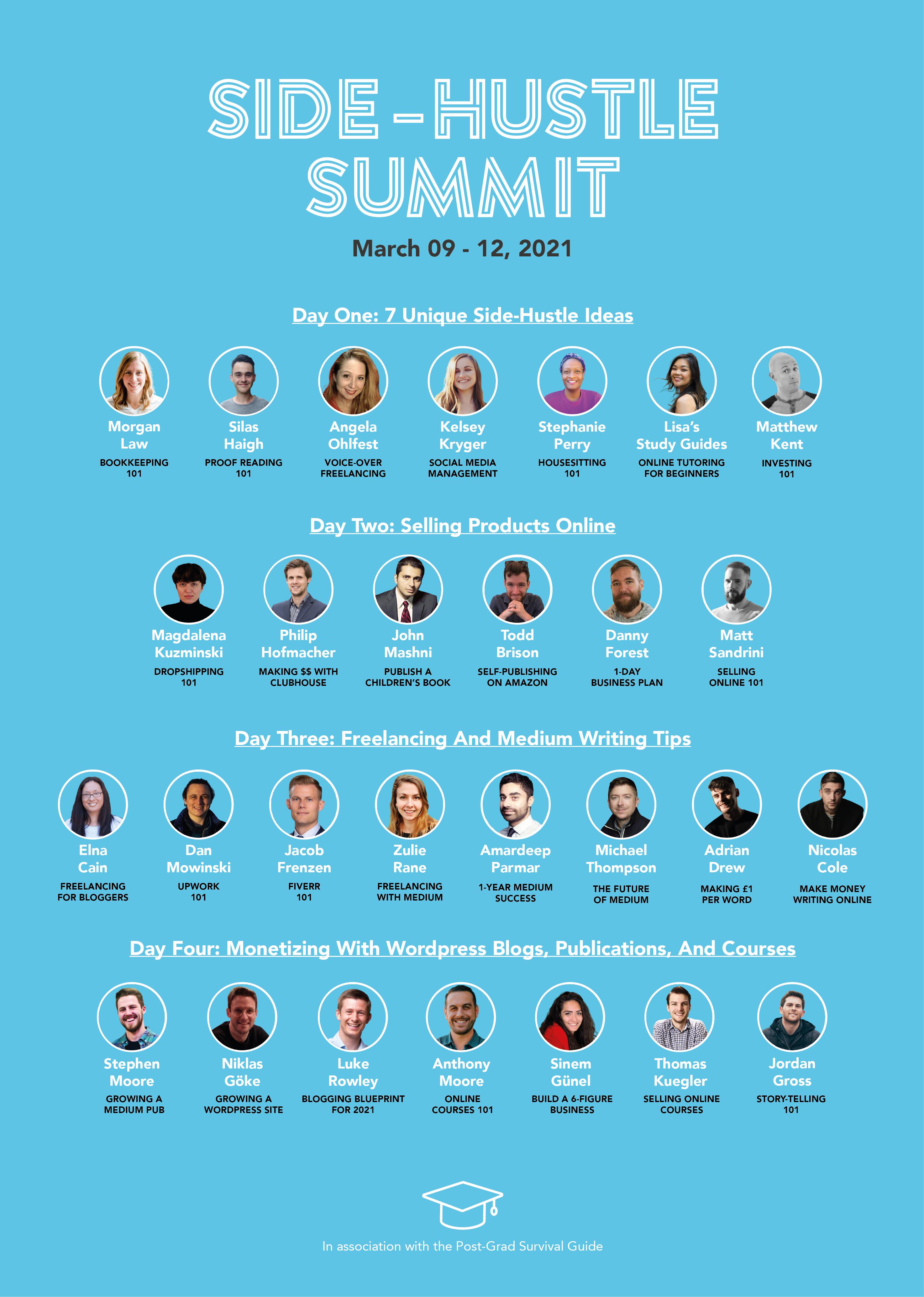 Summit-Schedule