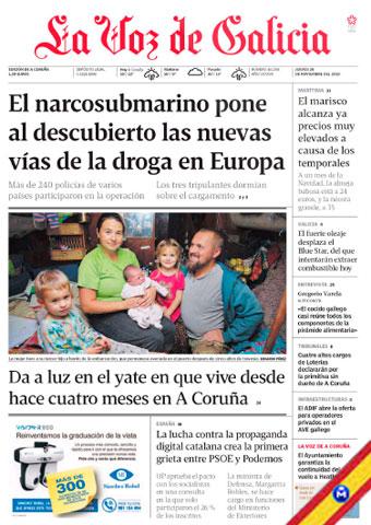 La Voz de Galicia 28 Noviembre 2019 [Español] [Up-4Ever] La-Voz-de-Galicia-28-Noviembre-2019