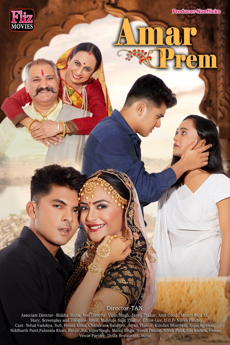 18+ Amar Prem 2021 Nuefliks Original Hindi Short Film 720p HDRip 800MB Download