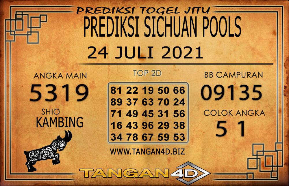 PREDIKSI TOGEL SICHUAN TANGAN4D 24 JULI 2021
