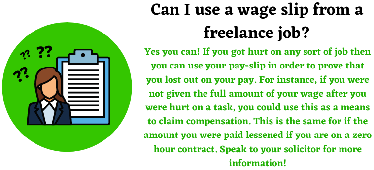 freelance jobs and payroll for loss of earnings