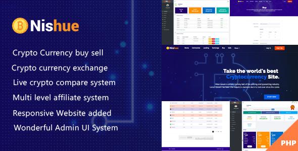 Nishue v2.0 - скрипт биржи криптовалюты