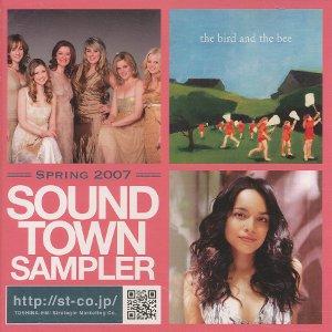 Compilations incluant des chansons de Libera Sound-Town-Sampler-Spring-2007-300