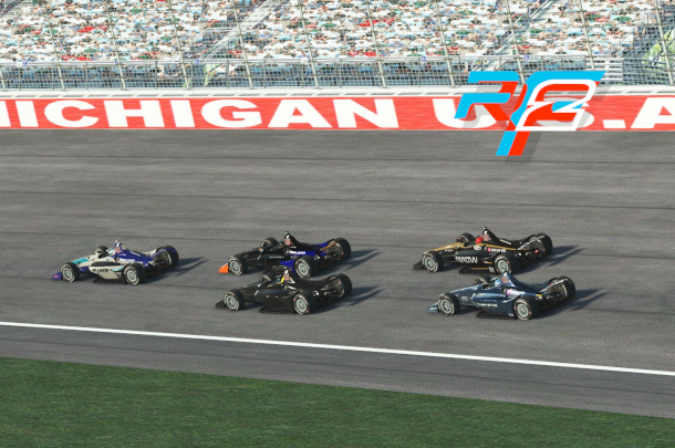 VRC Indycar 2020 - Round 12 - Michigan