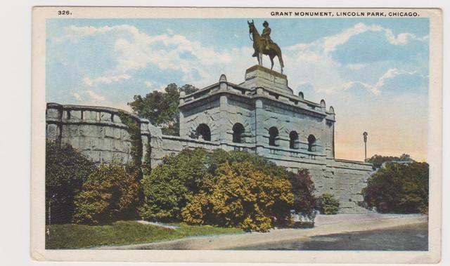 Grant Monument Lincoln Park